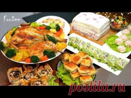 Готовлю Новогоднее МЕНЮ за 2 ЧАСА! 8 блюд для тех, кто не хочет встретить Новый Год на кухне!