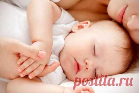 Молитва, чтобы ребенок лучше спал...