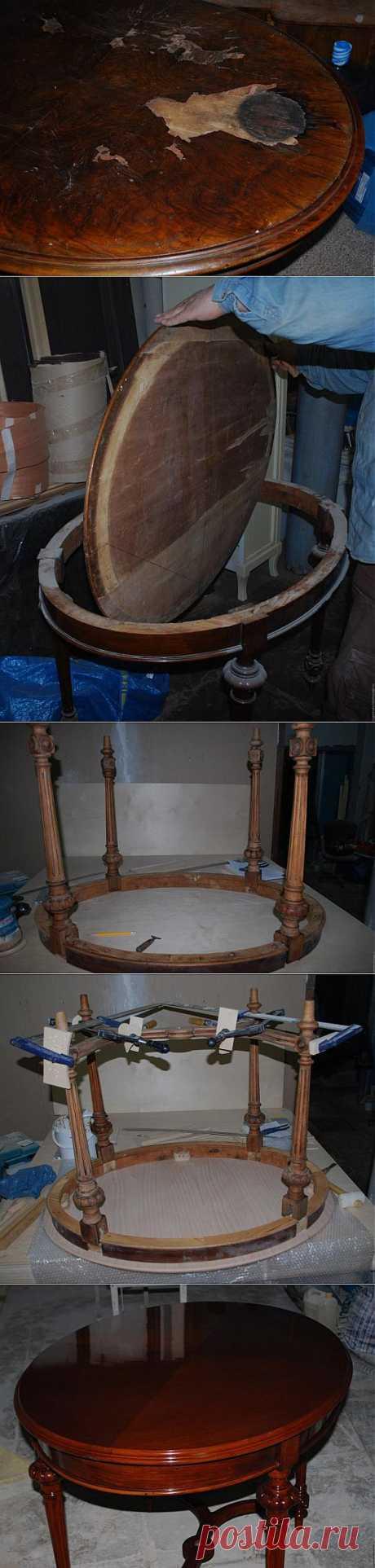 Реставрация стола - Ярмарка Мастеров - ручная работа, handmade
