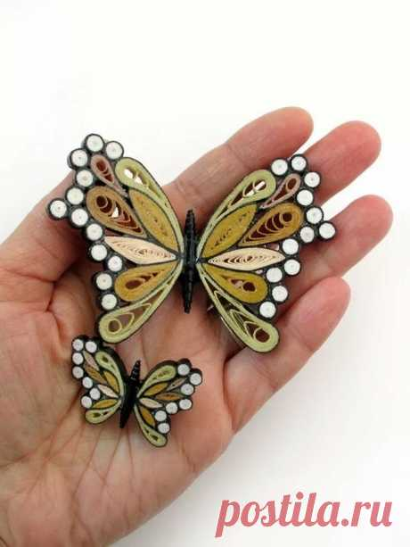 encantadoras. Butterflies & Caterpillars Tarje. в Яндекс.Коллекциях
