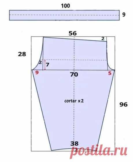 УЗКИЕ БРЮЧКИ НА 54 РАЗМЕР — МОЖНО СШИТЬ ЗА ВЕЧЕР!  Замечательные узкие брючки, для пышной фигуры можно сшить за один вечер. Выкройка очень легкая и понятная, крой несложный. Пошить такие брючки не составит труда.Понадобится одна длина брюк, плюс подгибка, плюс ширина пояса, при ширине ткани 150 сантиметров. Ткань подойдет с добавлением эластана (тянется).  Брюки будем шить только с одним внутренним швом, по бокам шва нет. Выкройка дана на 54 размер.  Расчет: ПолуОбхват ...