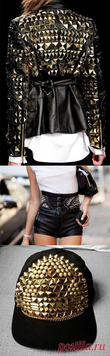 Клепки / Идеи / Модный сайт о стильной переделке одежды и интерьера