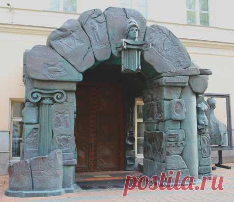 Музей современного искусства на Петровке.