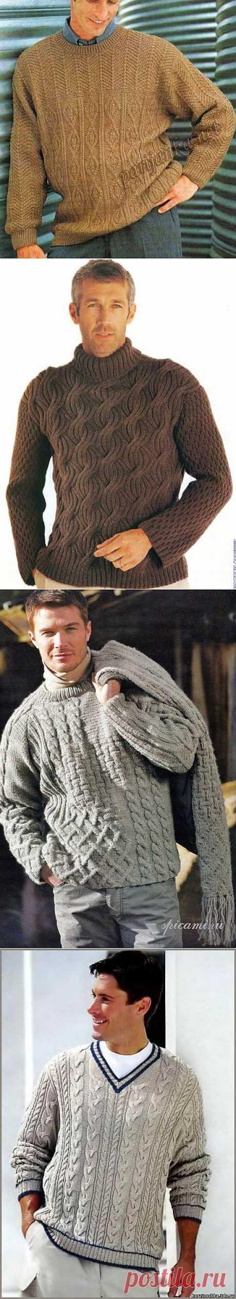 Вязание для мужчин | Записи в рубрике Вязание для мужчин | Дневник lyiolik