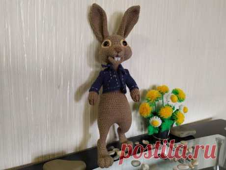 Кролик Питер ,ч.4. Peter Rabbit, р.4. Amigurumi. Crochet. Вязать игрушки, амигуруми.