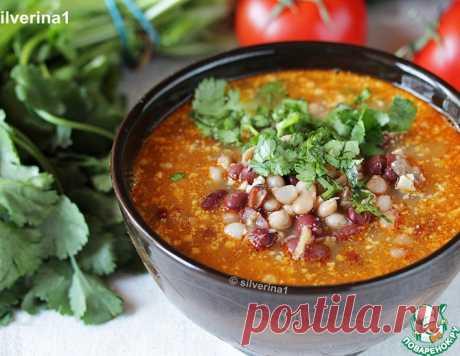 Суп с фасолью и орехами – кулинарный рецепт
