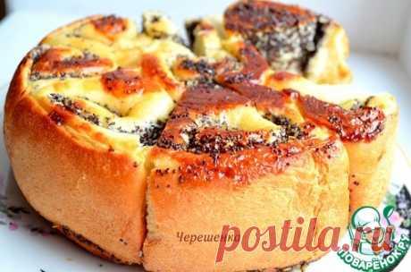 Пирог с маком и кокосовой стружкой - кулинарный рецепт