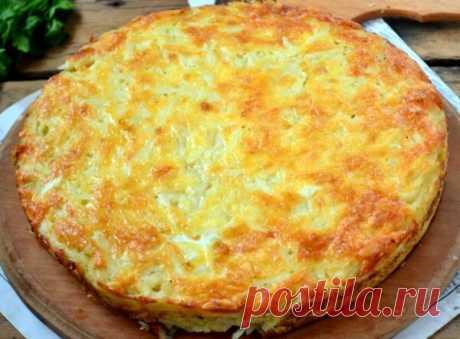 Ароматная запеканка - пирог из тертого картофеля | D-garden | Яндекс Дзен