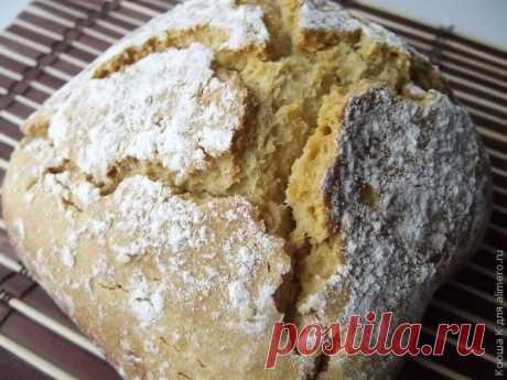 Бездрожжевой хлеб в хлебопечке / Рецепты с фото