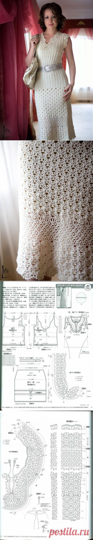 Вязаный крючком женский костюм+СХЕМА. Красивый летний костюм крючком для женщины | Домоводство для всей семьи.