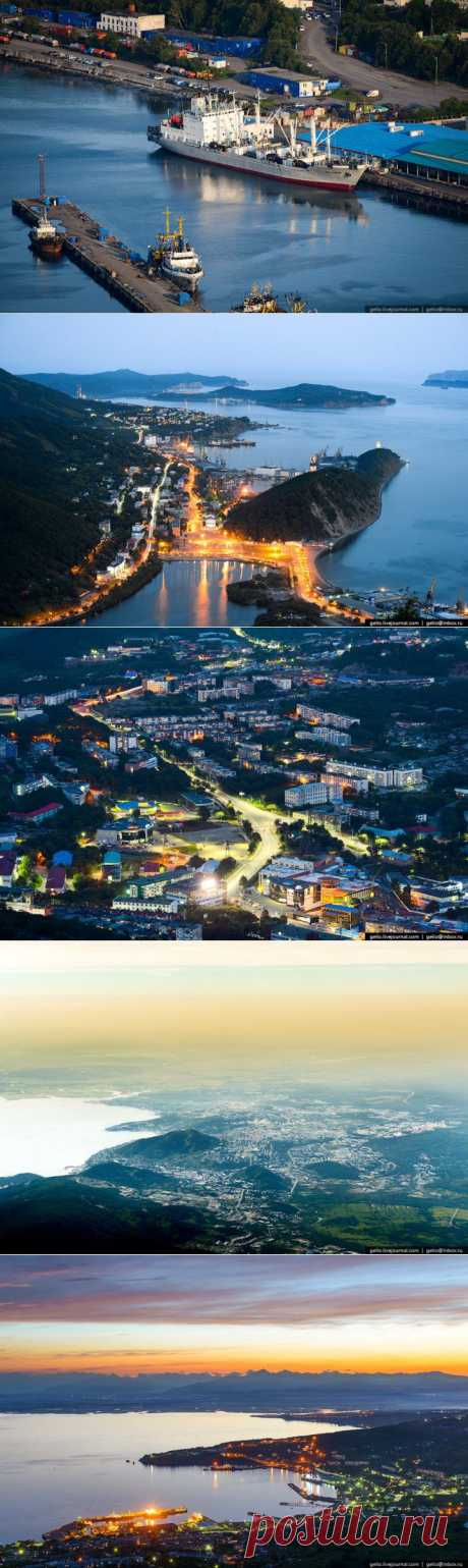 (+1) тема - Вечерний Петропавловск-Камчатский с высоты птичьего полета | ТУРИЗМ И ОТДЫХ