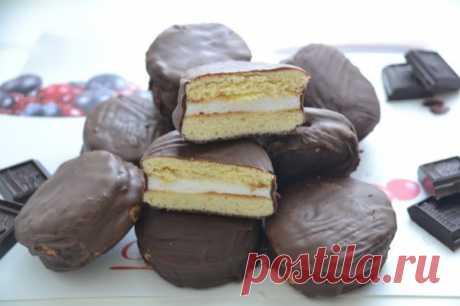 Печенье  чоко-пай