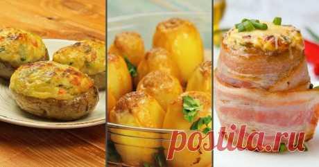 Как приготовить фаршированный картофель - Со Вкусом