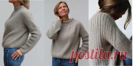 Модный свитер My Winter - Вяжи.ру