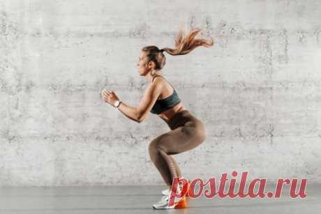 Простые упражнения для разгона метаболизма и похудения. Выпады, отжимания, планка - Чемпионат
