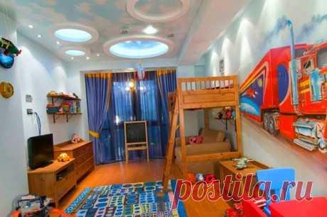 Развивающий интерьер детской комнаты | Дизайн интерьер | Яндекс Дзен