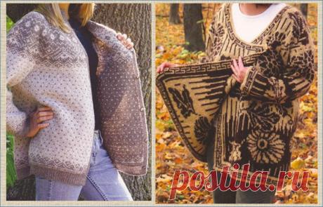 Двусторонний жаккард - очень актуальная и современная техника вязания спицами, легко освоить и свзать вот такую красоту:   МНЕ ИНТЕРЕСНО   Яндекс Дзен
