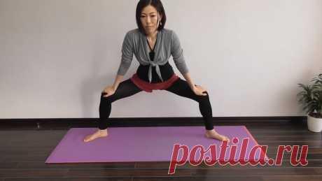 Упражнение для одновременного укрепления мышц живота и спины