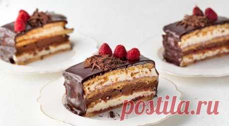 Пирожные «Джоконда», пошаговый рецепт с фото