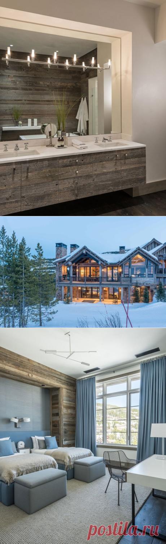 Впечатляющее современное шале в штате Монтана - Дизайн интерьеров | Идеи вашего дома | Lodgers