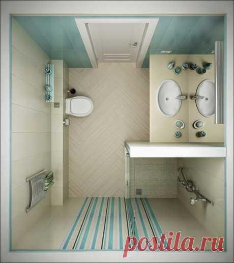 Отличные идеи организации ванной — Мой дом