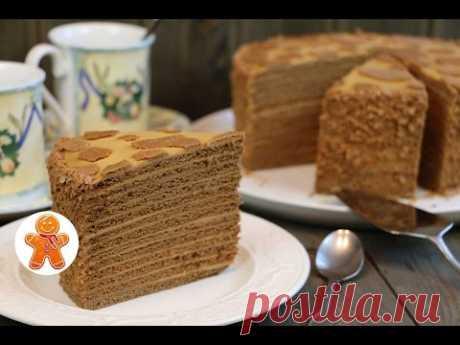 Honey Cow Cake ✧ Honey Cake (English Subtitles)