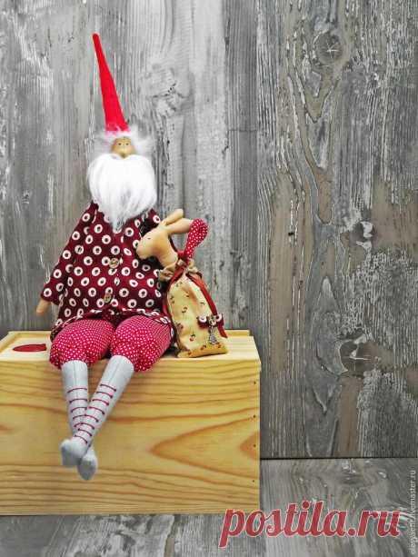 Шьем старого доброго Санта Клауса   Журнал Ярмарки Мастеров