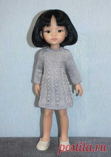 #участвуюВконкурсеМК4@kasatkadolls  МК №2 Туника спицами для кукол Paola Reina 32-34 см от Светланы Федоровой ! Условия конкурса  https://vk.com/wall-95724412_67505