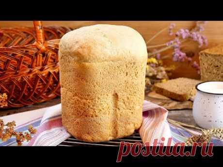 Белый пшеничный хлеб в хлебопечке! Рецепт дрожжевого хлеба из пшеничной муки