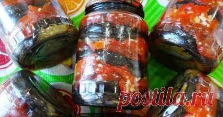 Зимняя закуска! Баклажаны, перец и томаты с чесноком в масле на зиму        Очень вкусная закуска! Пальчики оближешь!   Ингредиенты:   Баклажаны 3 кг. чистый чес   Помидоры 1,5 кг.