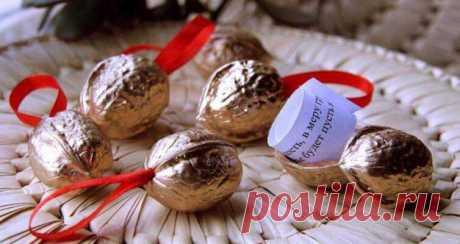 Орешки с секретом - отличная идея для игр, подарков и сюрпризов » Женский Мир