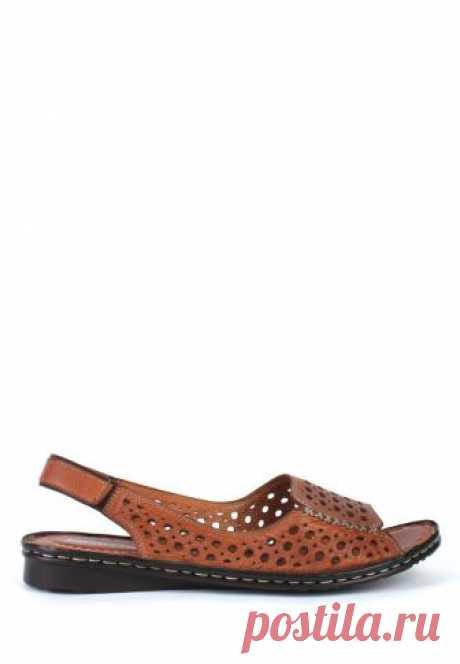 Женские кожаные сандалии GoErgo 284-1414 кор купить в интернет-магазине «KC-Shoes» за 2495 руб!