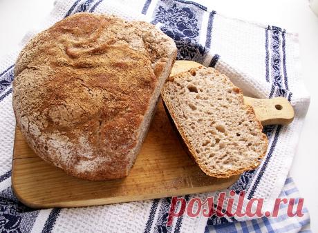 """Самый лучший хлеб """"без замеса""""."""