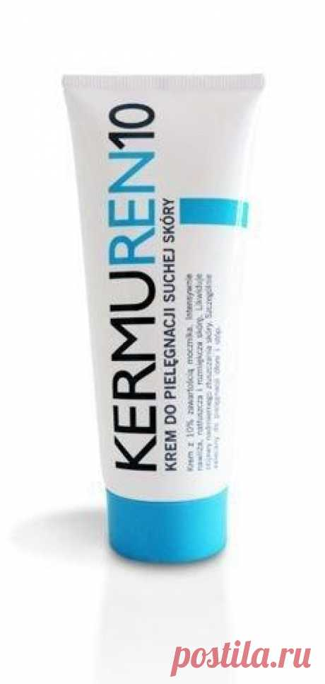 KERMUREN urea cream 10% 75ml KERMUREN UREA CREAM UK 10% is a preparation showing strong moisturizing and oiling properties, recommended especially during skin care of hands, elbows and feet.