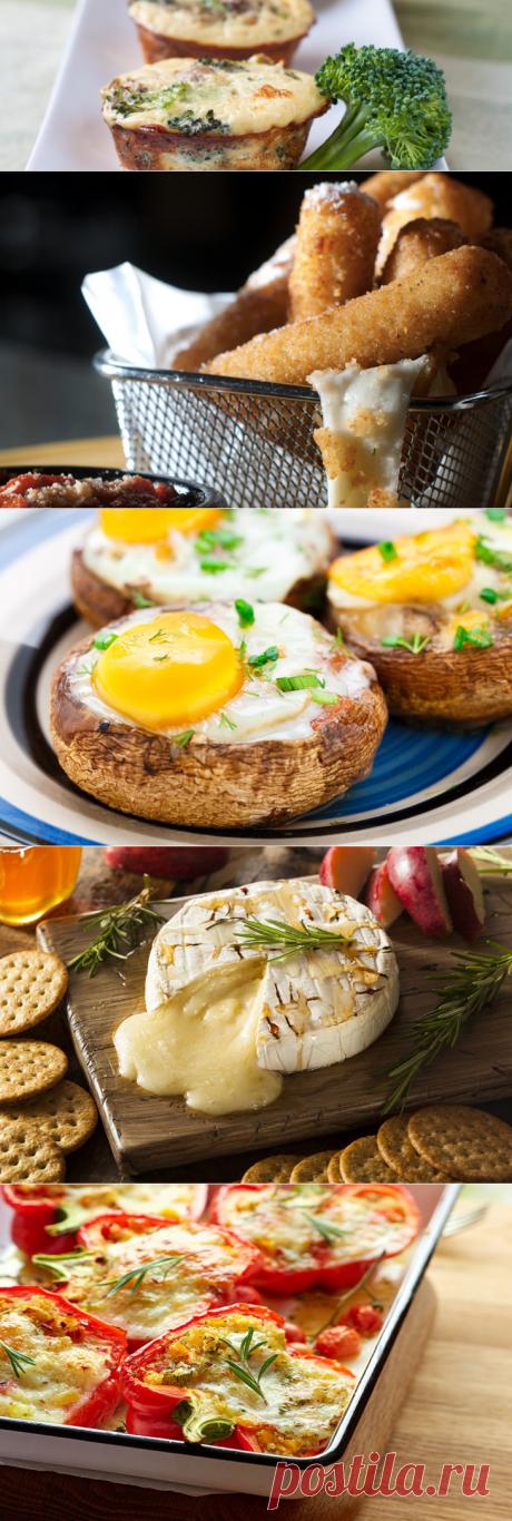 Закуски, которые можно сделать всего из трех ингредиентов
