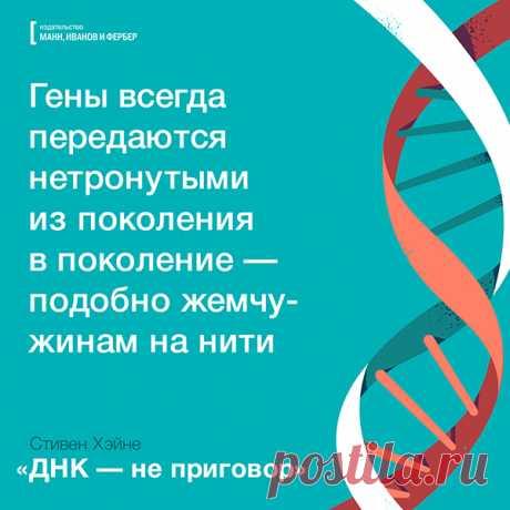 Геном содержит самые сокровенные секреты о нас