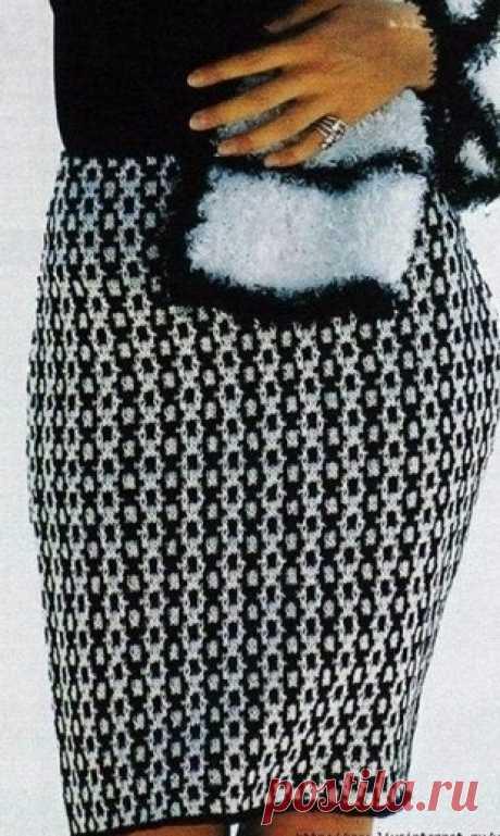 La falda por los rayos \/ la Labor de punto