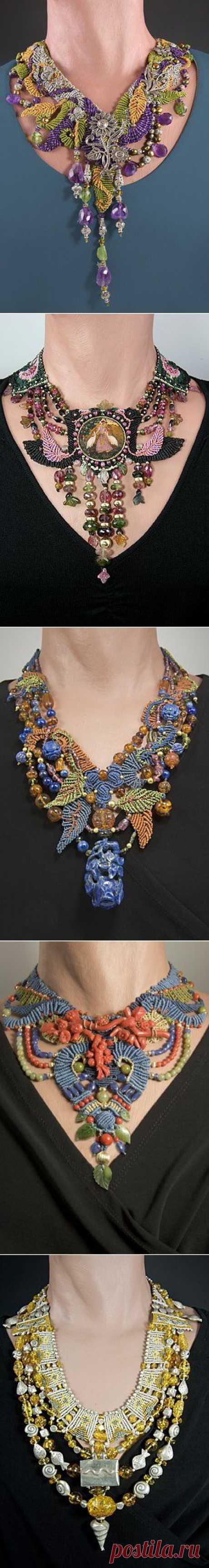 (+1) тема - Оригинальные и очень красивые украшения из бисера | РУКОДЕЛИЕ