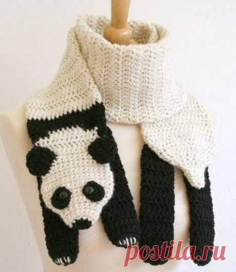 Креативные шарфики животные