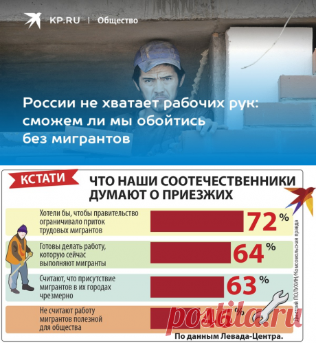 России не хватает рабочих рук: сможем ли мы обойтись без мигрантов