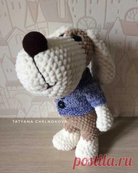 PDF Пёс Талисман. Бесплатный мастер-класс, схема и описание для вязания игрушки амигуруми крючком. Вяжем игрушки своими руками! FREE amigurumi pattern. #амигуруми #amigurumi #схема #описание #мк #pattern #вязание #crochet #knitting #toy #handmade #поделки #pdf #рукоделие #собака #собачка #щенок #пёс #пёсик #dog #doggie #doggy #puppy #плюшевый #plush