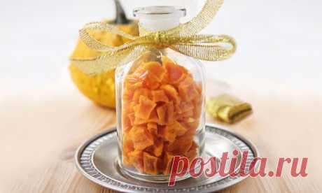 Осенний деликатес - цукаты из тыквы