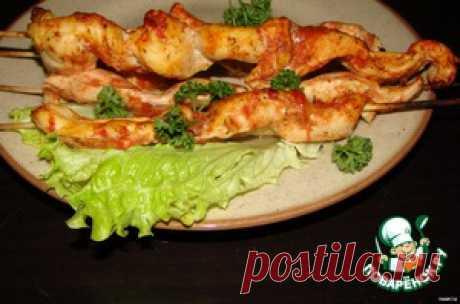Шашлычок из курицы - кулинарный рецепт
