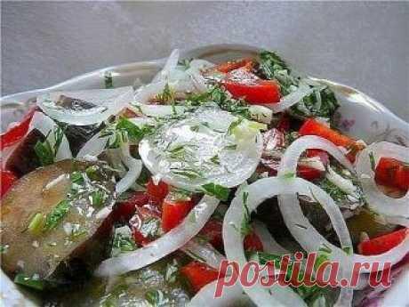 Fast recipe of marinated eggplants (Amazing eggplants and \u000d\u000aexcellent taste!!!))