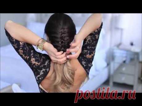 Как плести косу самой себе