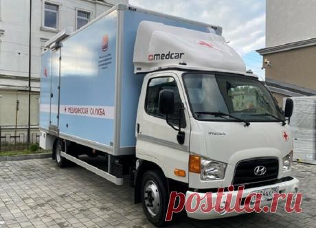 Передвижной стоматомплекс на базе Hyundai HD 78 произвел КАЗ «АВТОТОР» — СпецТехноТранс
