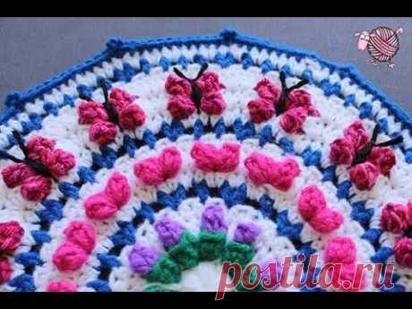 Debi's Crochet Mandala for Marinke