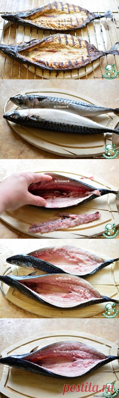 Хрустящая скумбрия - гриль без костей