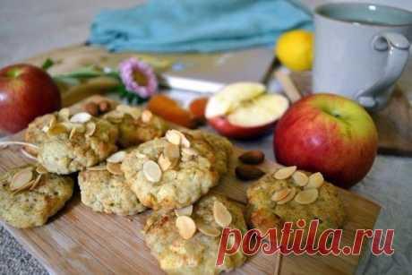 Яблочное печенье за 15 минут