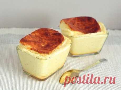 Простой способ приготовления сырного суфле